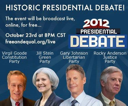 Third Party Debates This Week