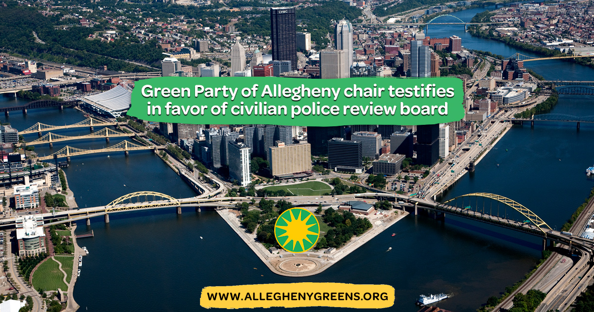 Green Party of Pennsylvania News & Events