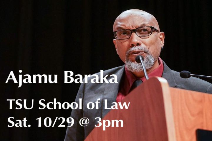 Ajamu Baraka speaking at GNC, to visit Dallas & Houston