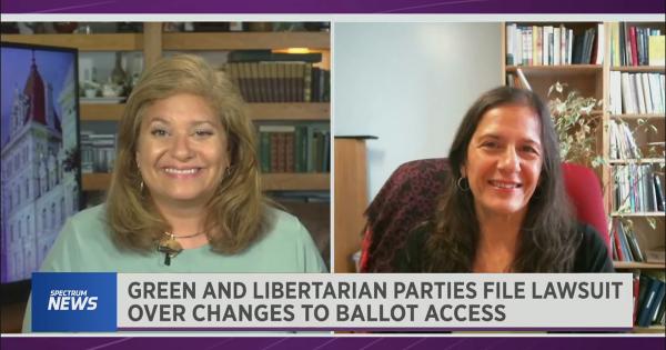 GPNY Co-Chair Gloria Mattera interviewed on TV news