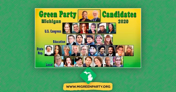 Green Party of Michigan Composite of Candidates