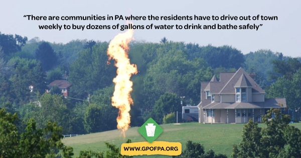 PA Greens Fight Fracking