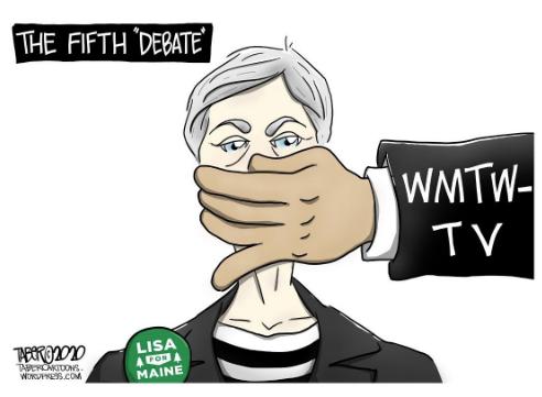 Lisa Savage Blocked From Debate