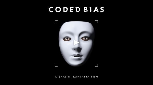 Video Still from CODED BIAS Trailer