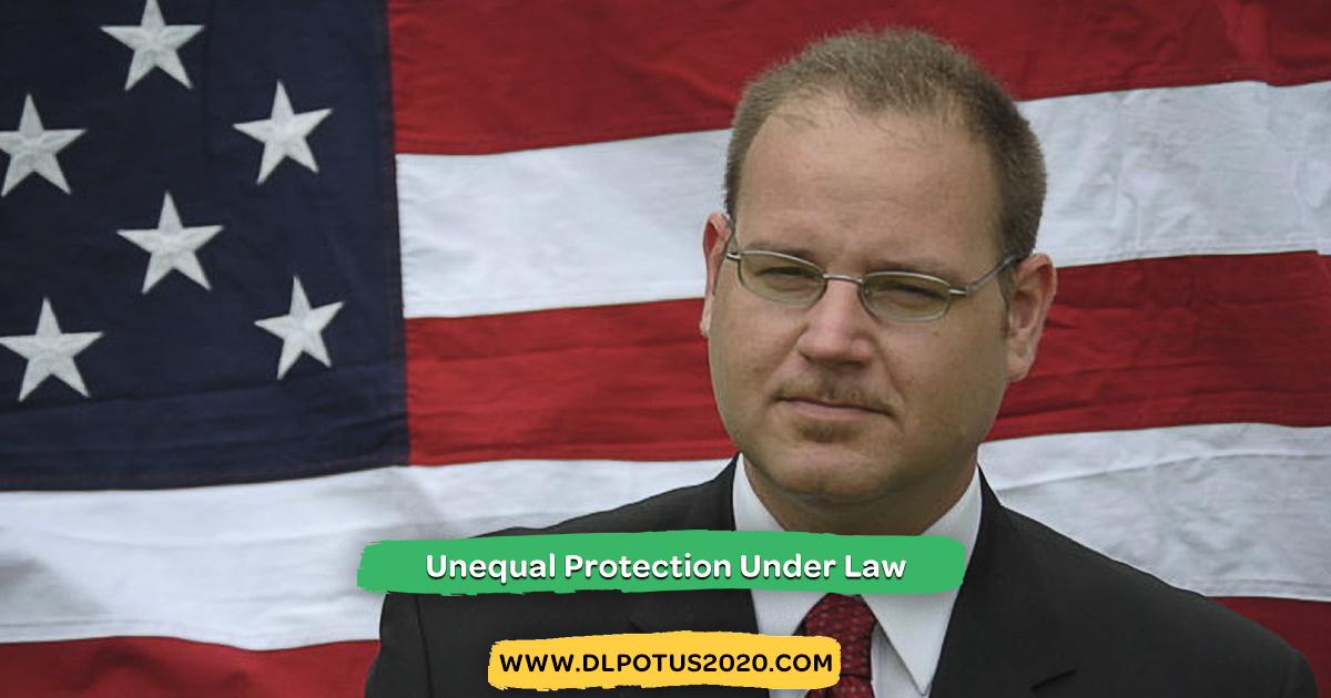 Erasure Tour 2020 Usa Unequal Protection Under Law, Dennis Lambert for President 2020