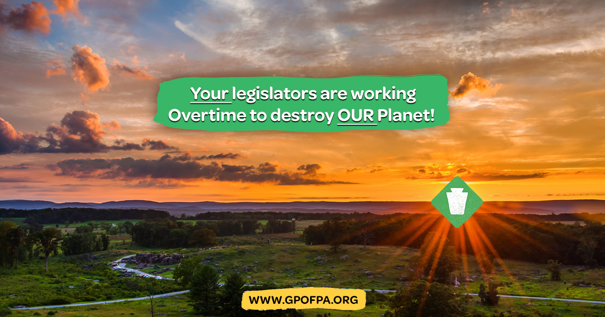 Greens Say, Your Legislators Working Overtime to Destroy the Planet