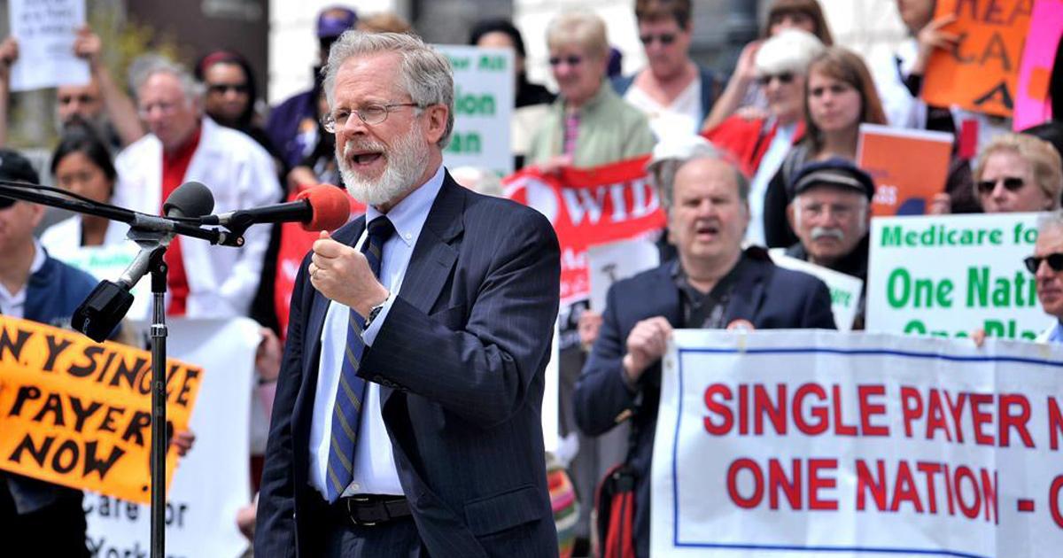 Activists Rally: Demand Albany Pass NY Single-Payer Bill