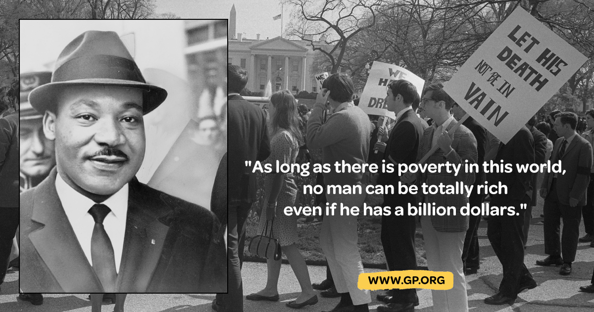 Remembering Dr King >> Remembering Dr Martin Luther King Jr Www Gp Org