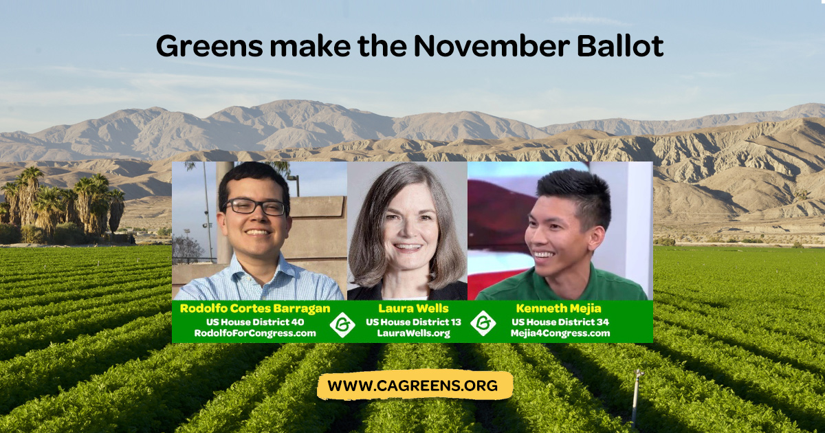 Join The Green Uprising & Put Greens In Congress! - www gp org