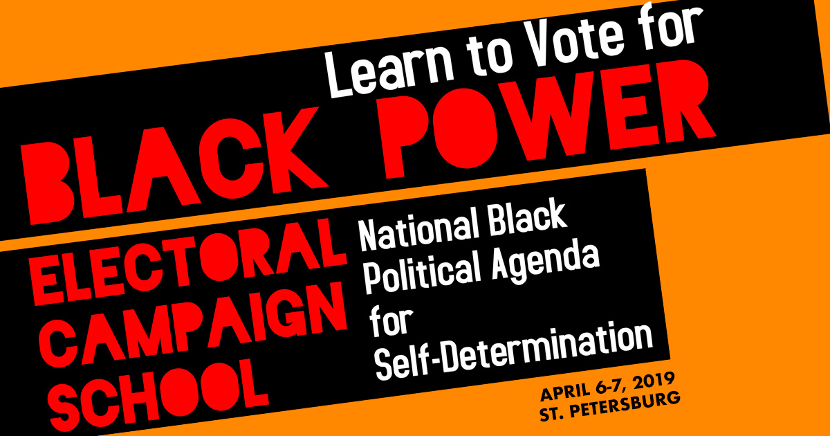 Green Party activists to participate in Black Power Electoral Campaign  School - www.gp.org