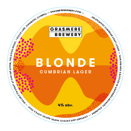 Grasmere Brewery Blonde Lager