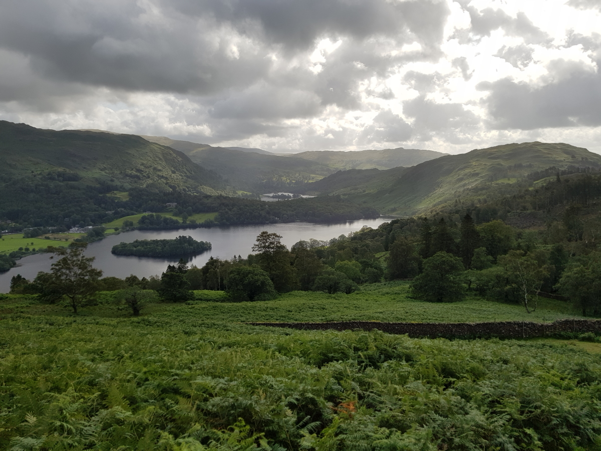 Grasmere Lake and Rydal Water