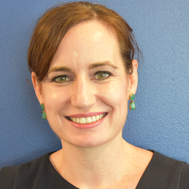 Headshot of Principal Katie Larkin (Photo credit: DCPS)
