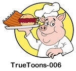 bbq-006-Chef-Pig-Holding-A-Pulled-Pork-Burger-And-Ribs-On-A-Plate.jpg