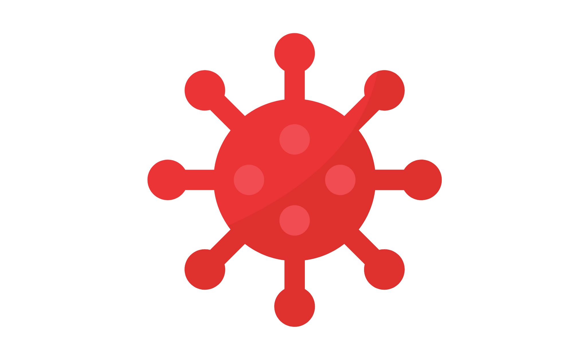 graphic of virus