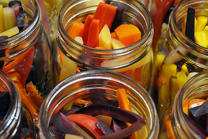 Value-added activities, such as canning, can increase farm viability