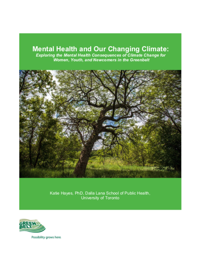 Climate Change & Mental Health