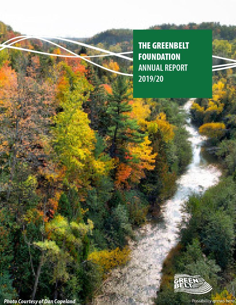 2018 - 2019 Annual Report Cover