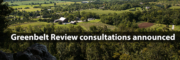 Photo – Greenbelt consultations annouced