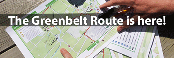 Photo – The Greenbelt Route is here
