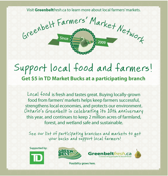 Local Free Of Market Celebrate The Friends Farmers' Bucks Greenbelt Buying - Markets Foundation With