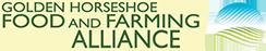 golden horseshoe food and farming alliance logo