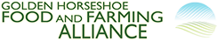 golden horseshoe food and farming alliance logo