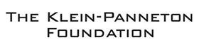 the klein-panneton foundation