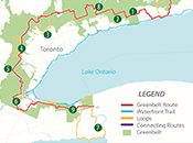 Photo - Bike Route Map