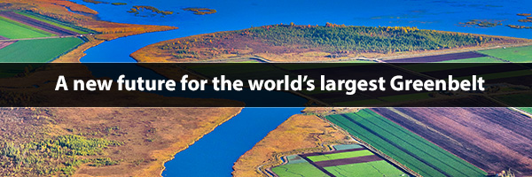 Photo – A new future for the world's largest Greenbelt