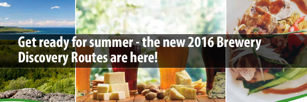 Photo – Get ready for summrt - the new 2016 Brewert Discovery Routes are here!