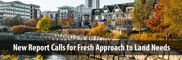 Photo – Compact development in Port Credit, Caption - New report calls for fresh approach to land needs assessment