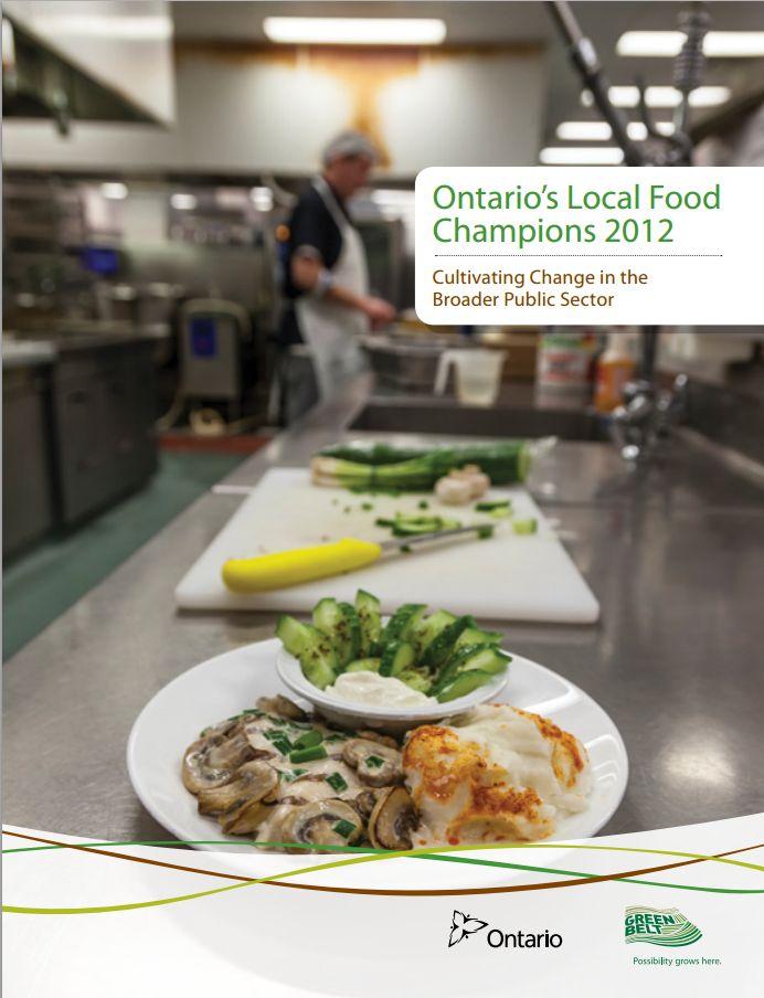 Ontarios Greenbelt Local Food