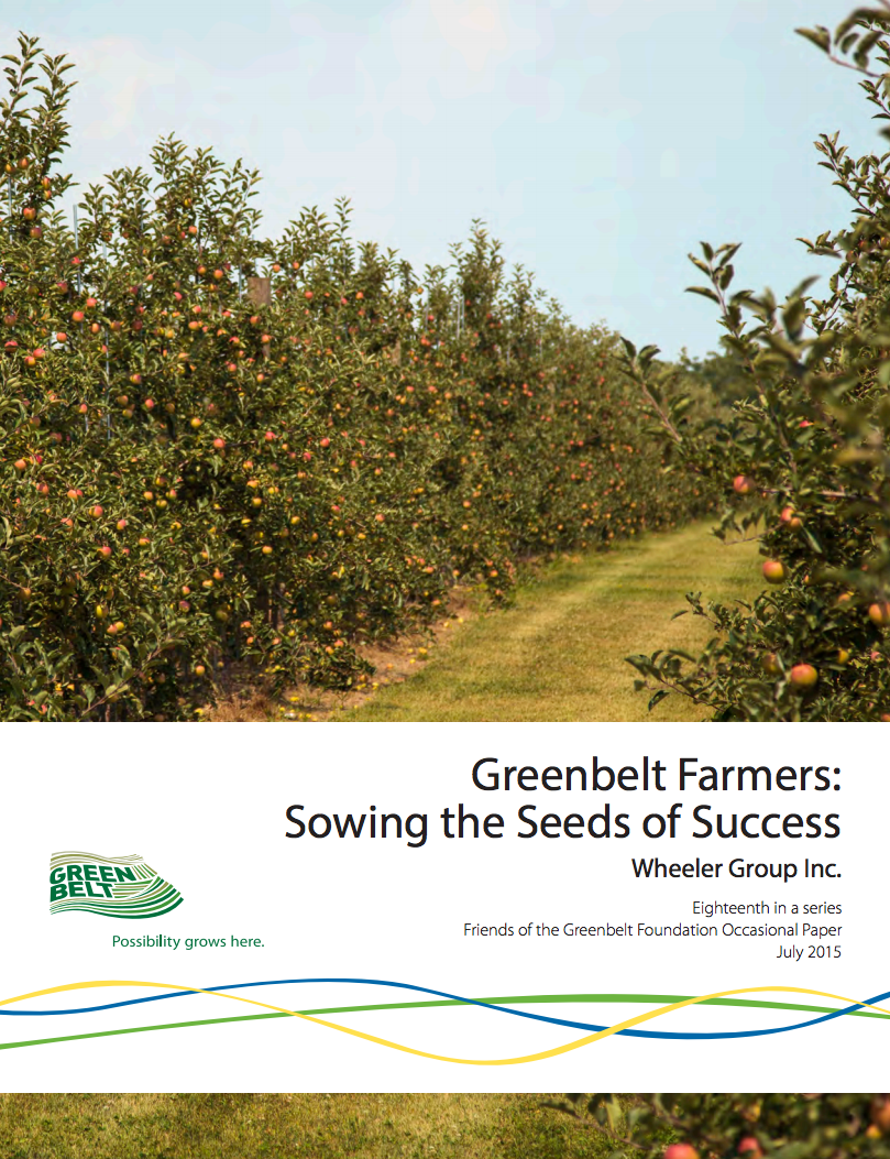 Greenbelt Farming Success