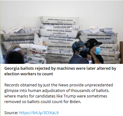 Georgia Ballots Rejected by Machines