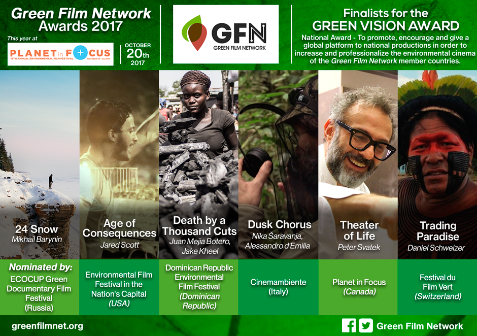 Green Film Networks Awards 2
