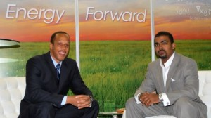 Simon Antonio Francis (left); Gilbert G. Campbell III, the duo behind Volt Energy. (Photo: Courtesy of Volt Energy Inc.)