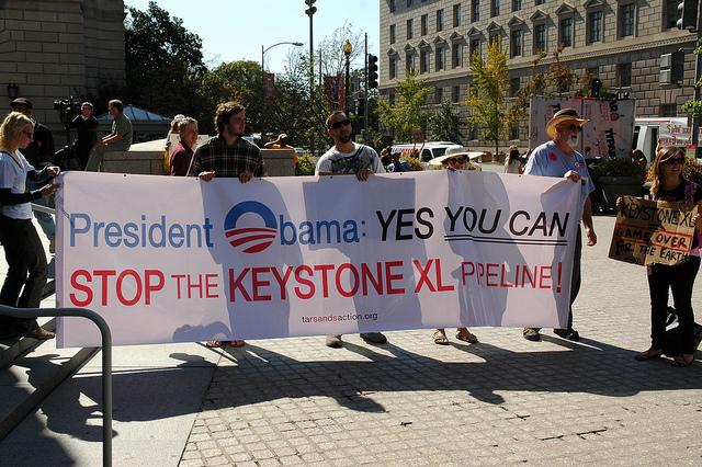 DC Keystone Protest