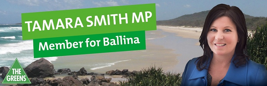 Tamara Smith MP for Ballina