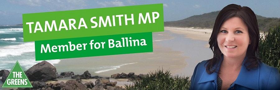 Tamara Smith MP for Ballina
