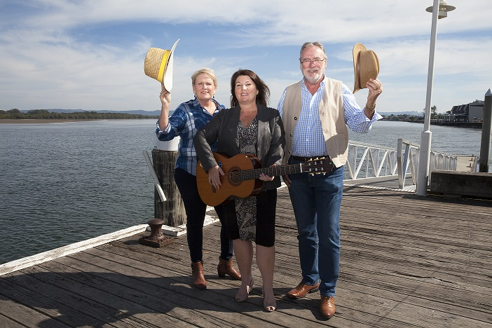 Tamara Smith and Ballina Coastal Country Music Festival organisers