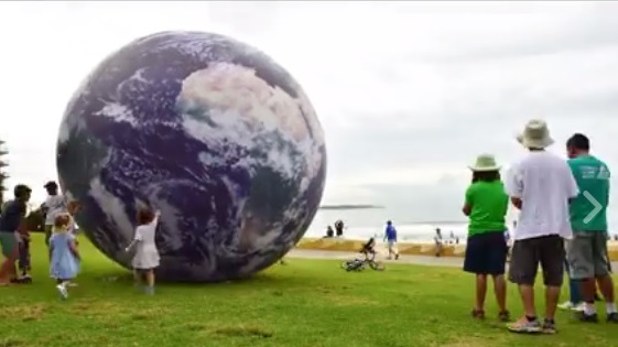 Earth_Ball_cronulla photo