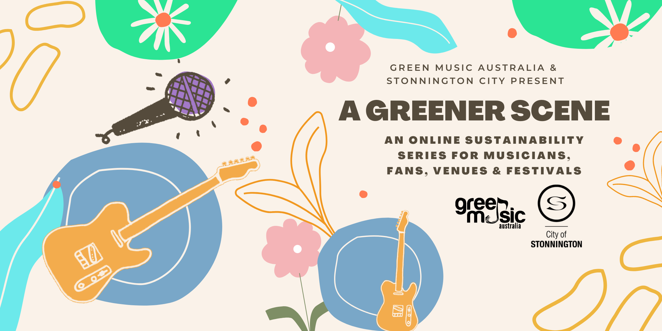 A GREENER SCENE   An online sustainability series for musicians, fans, venues & festivals