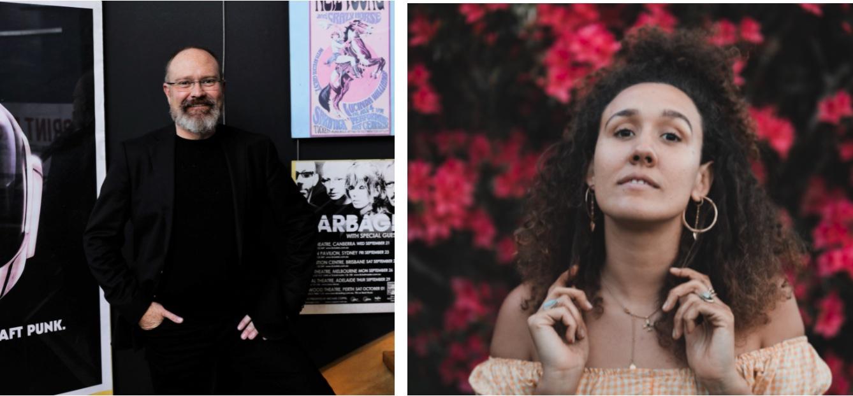 Welcome Djugun artist Nidala Barker and veteran music industry executive Marcus Seal.
