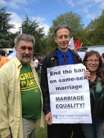 Peter Thatchell and Oxford Green councillors