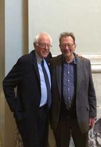 Larry and Bernie Sanders
