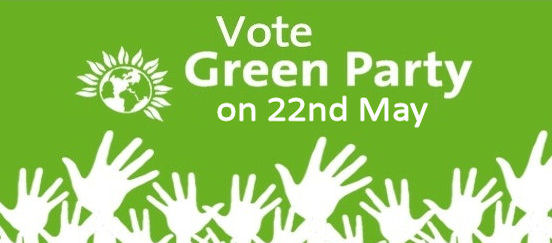 Pledge to vote Green in 2014