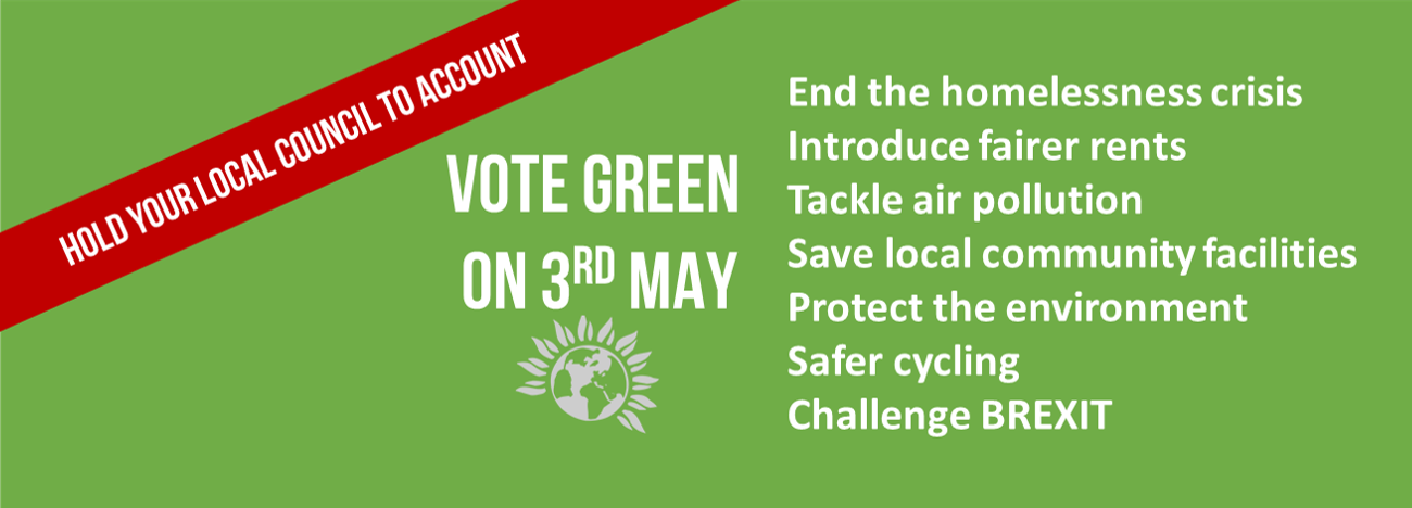 Click to find out why to vote Green in 2018