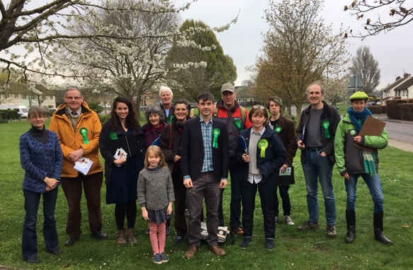 Campaigners in Berinsfield