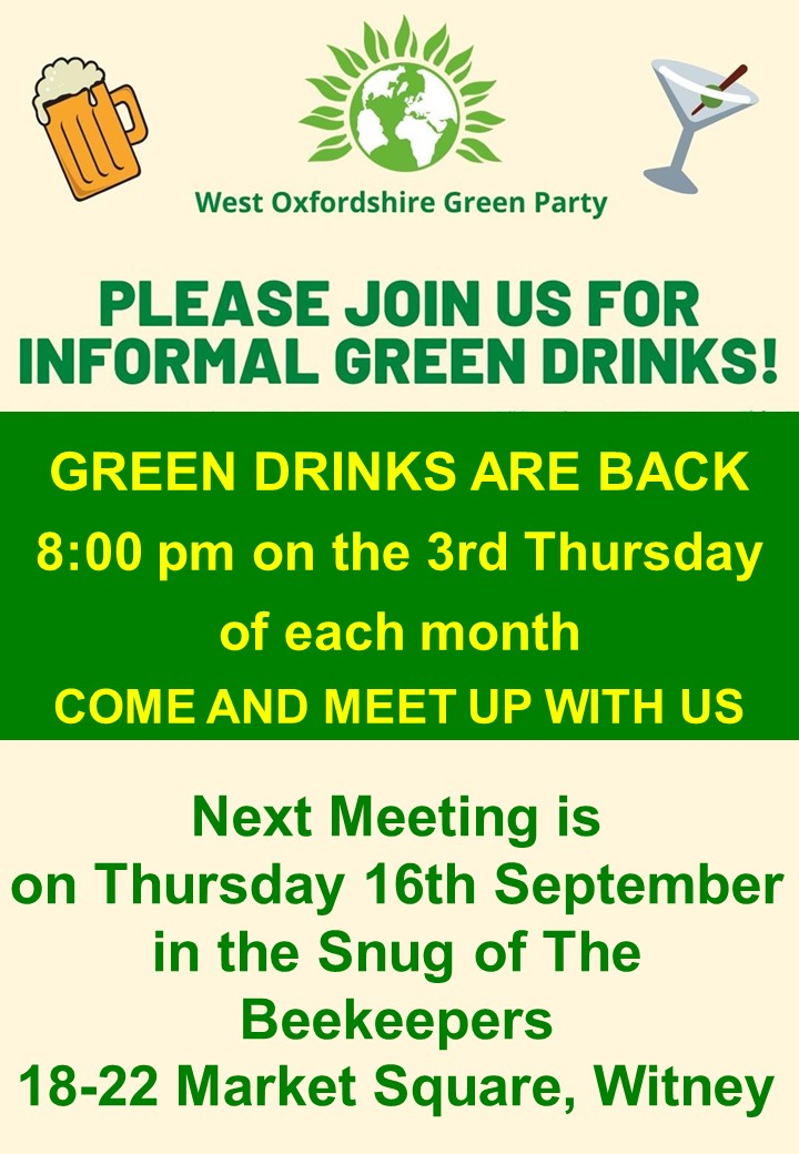 West Oxon Green Party Green Drinks
